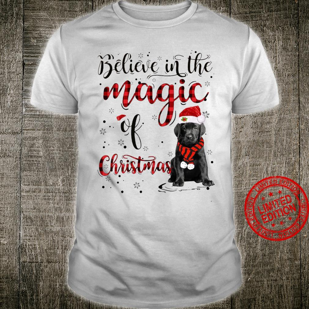 Believe In The Magic Of Christmas Dog Shirt