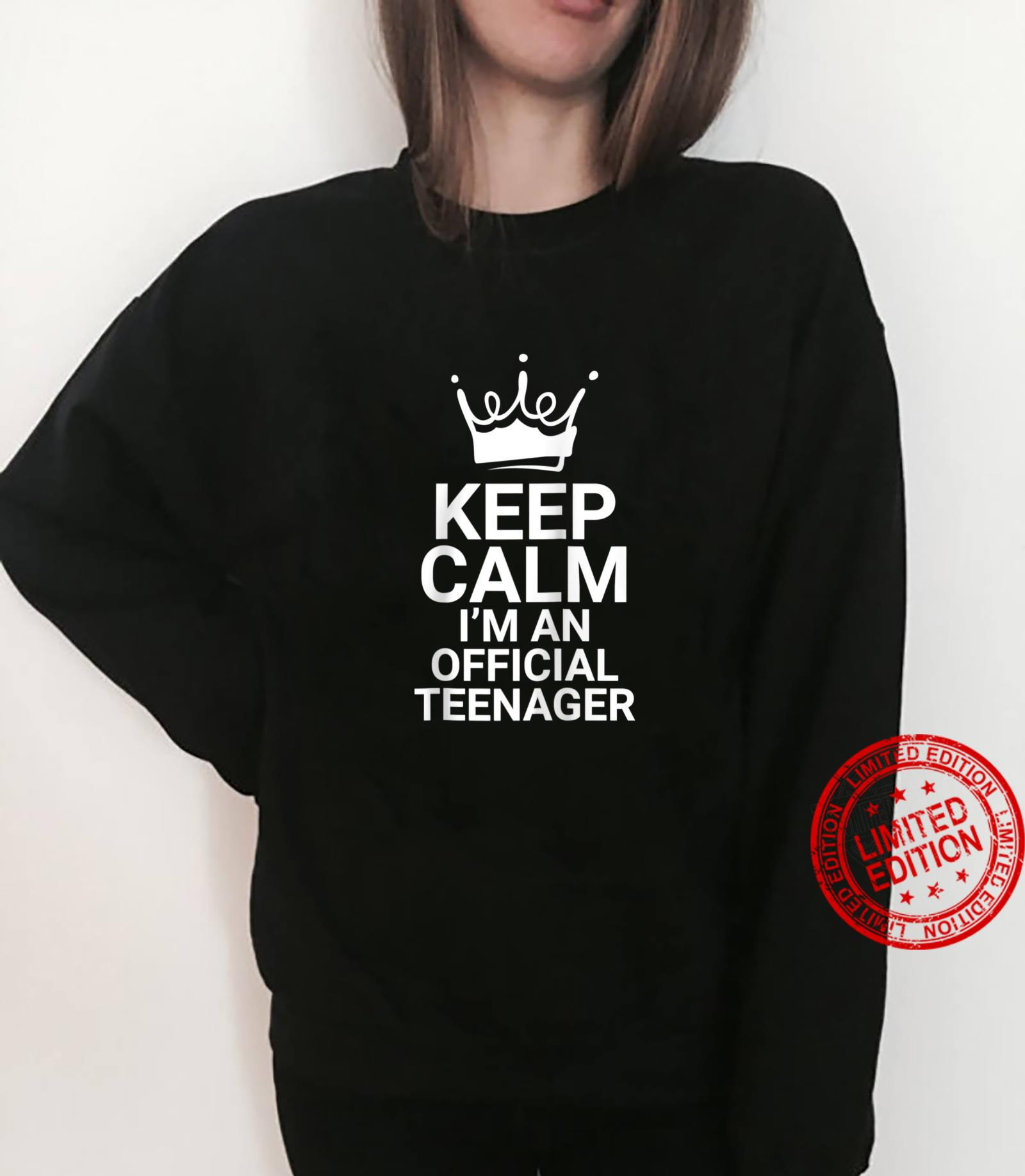 Funny 13 14 Year Old Birthday 13th 14th Girls Shirt sweater