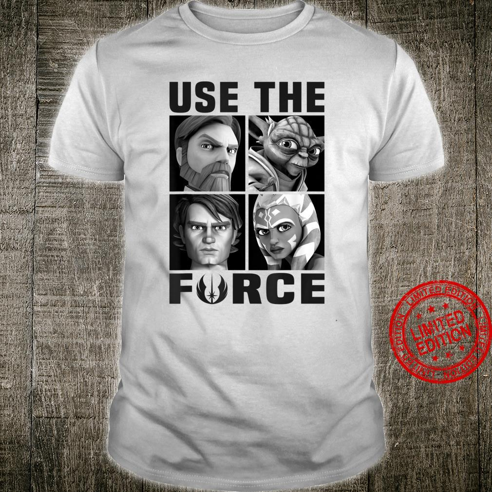Star Wars The Clone Force Jedi Box Up Use The Force Shirt