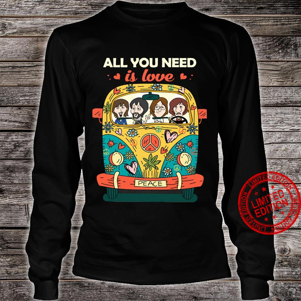 The Beatles all you need is love shirt long sleeved