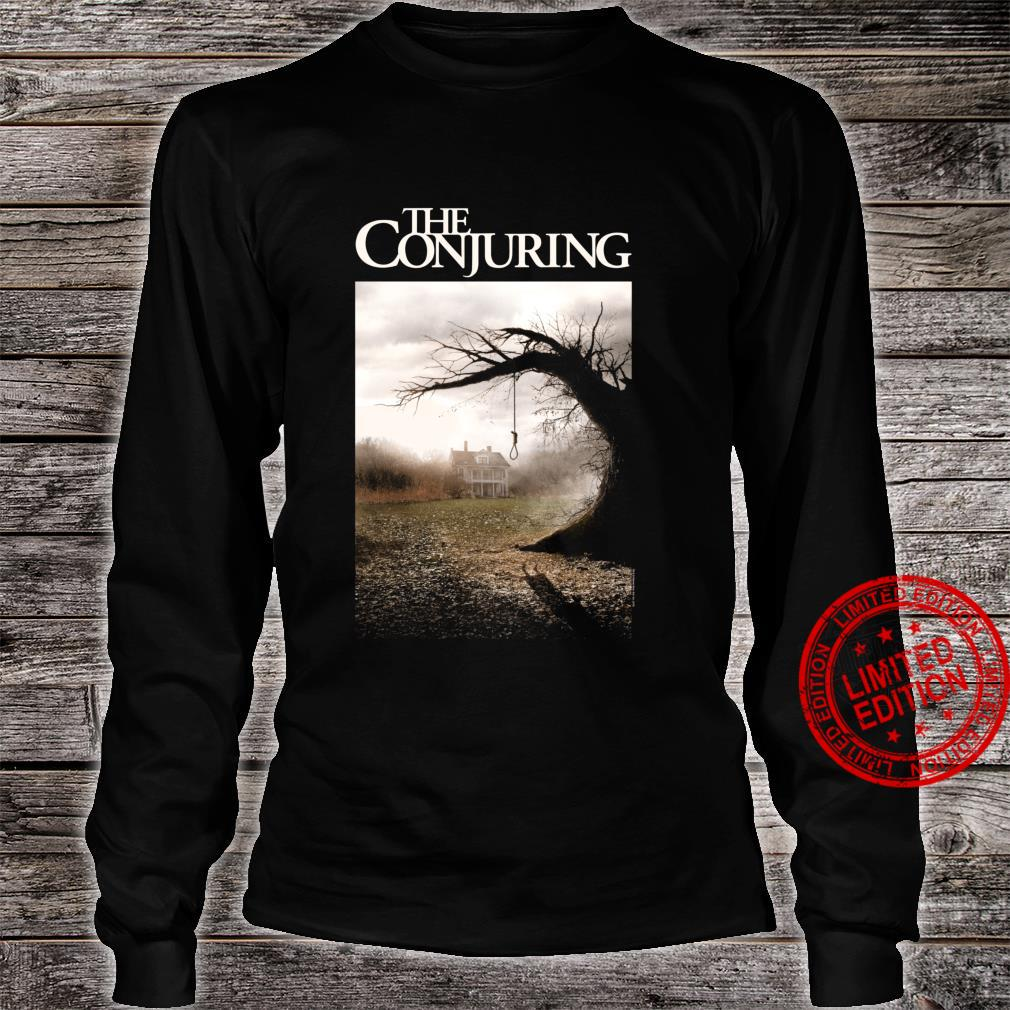 The Conjuring Color Poster Shirt long sleeved