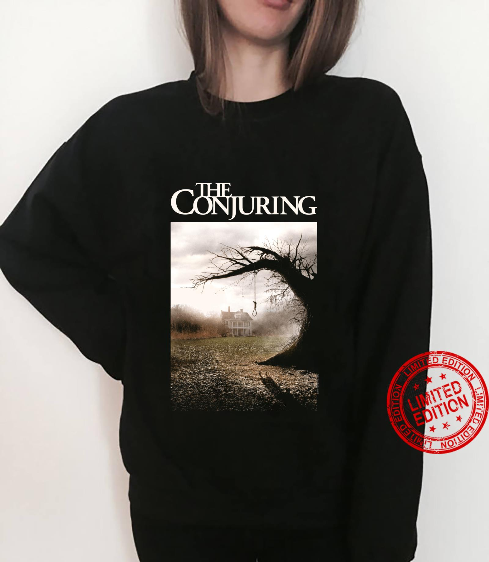 The Conjuring Color Poster Shirt sweater