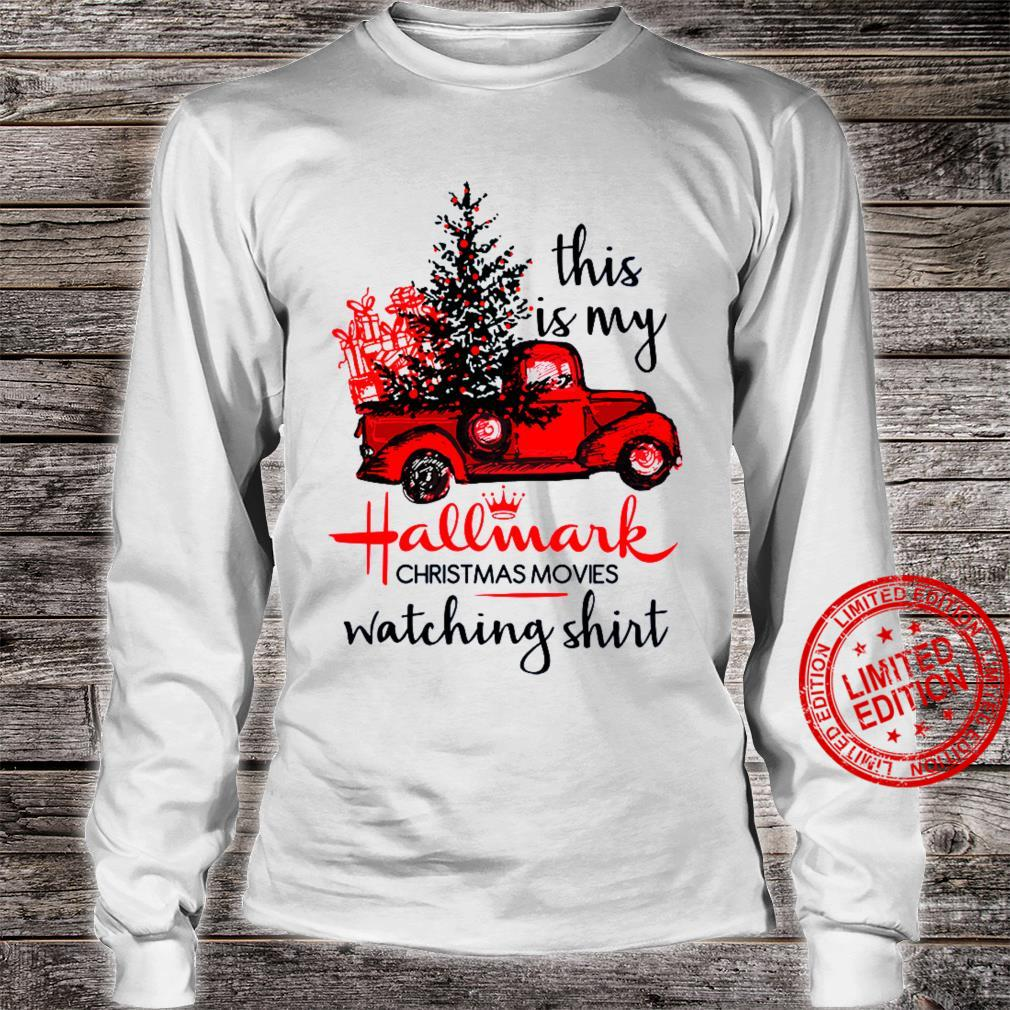 This Is My Hallmark Christmas Movies Watching Shirt long sleeved