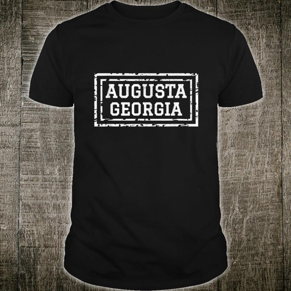 Augusta Georgia Vacation Travel Family Group Shirt