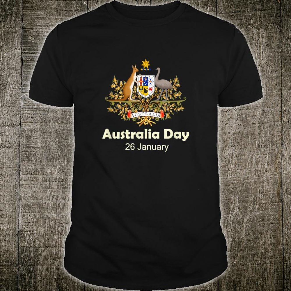 Australia Aussie day January 26 Shirt