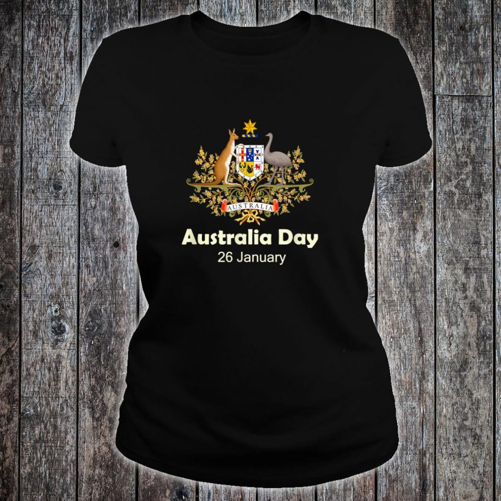 Australia Aussie day January 26 Shirt ladies tee