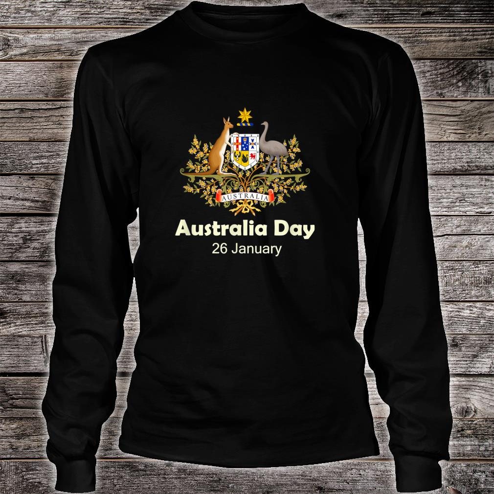 Australia Aussie day January 26 Shirt long sleeved