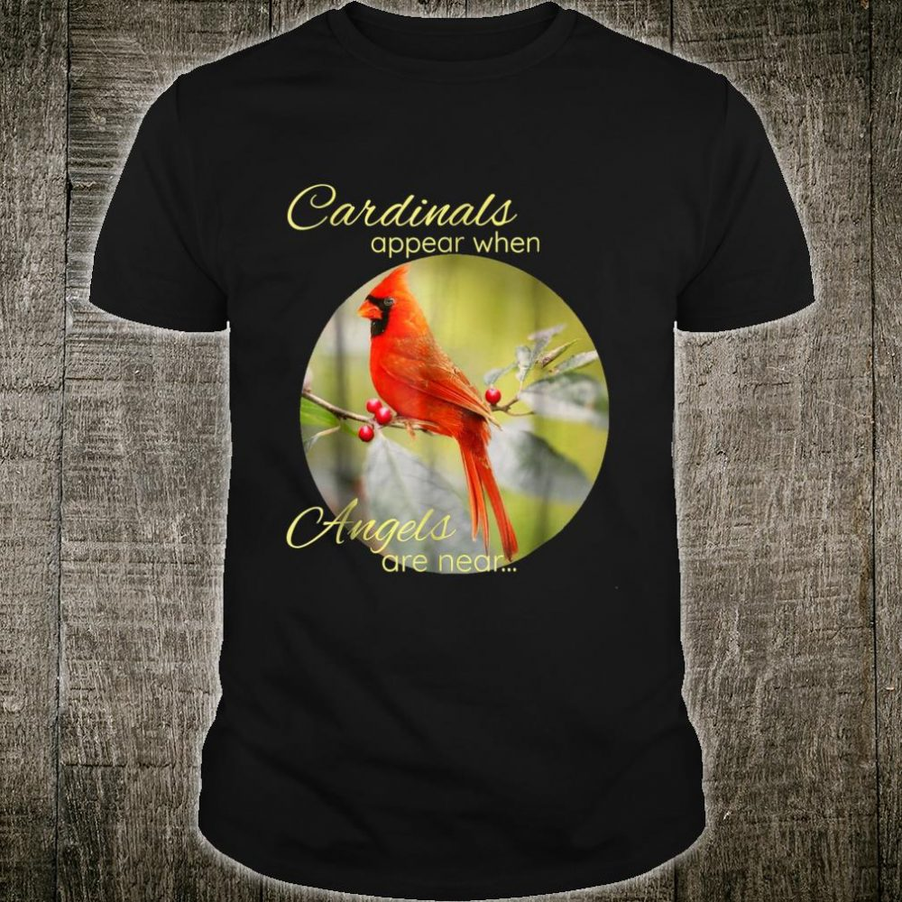 Cardinals & Angel Peace Shirt