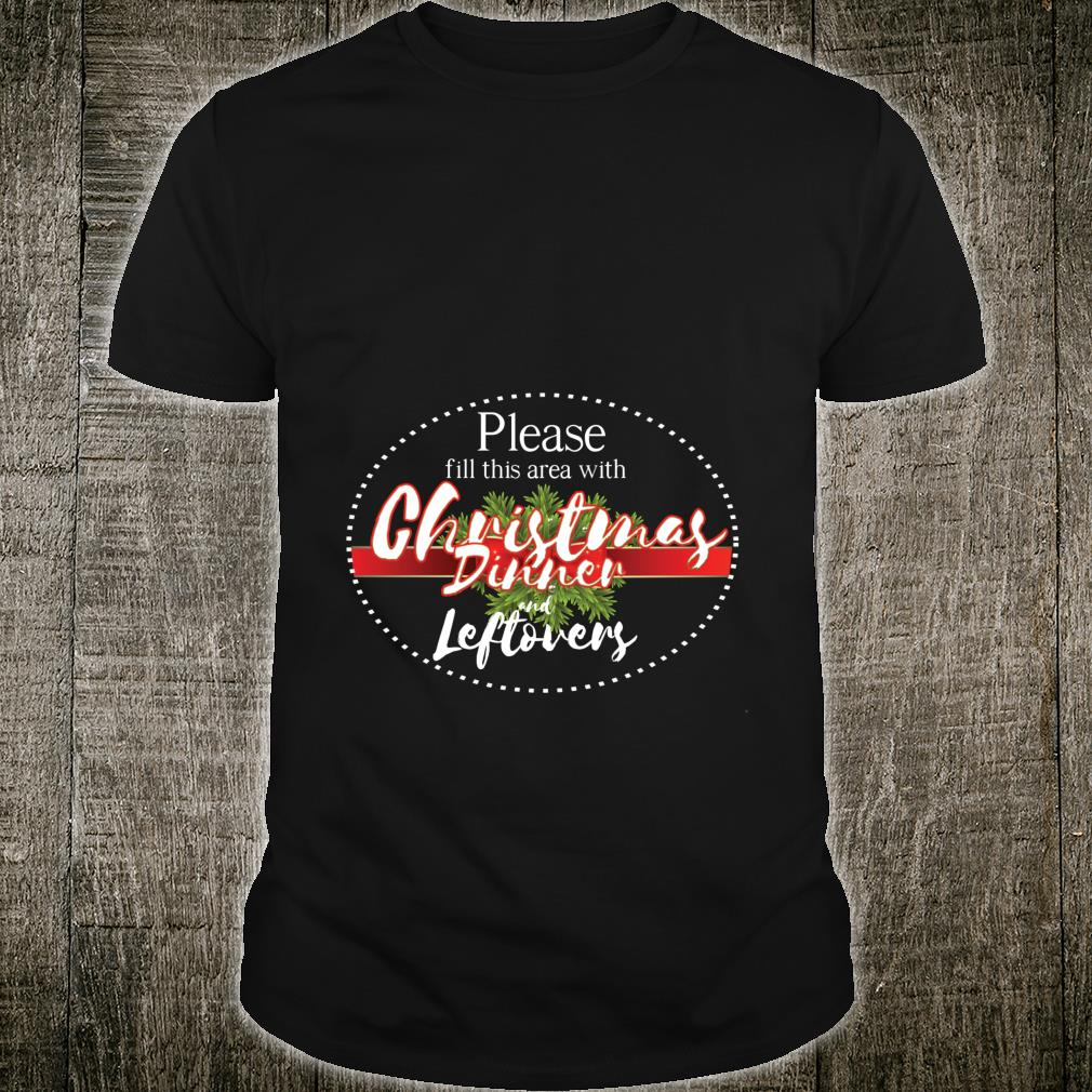 Christmas dinner area cool hilarious new year Shirt