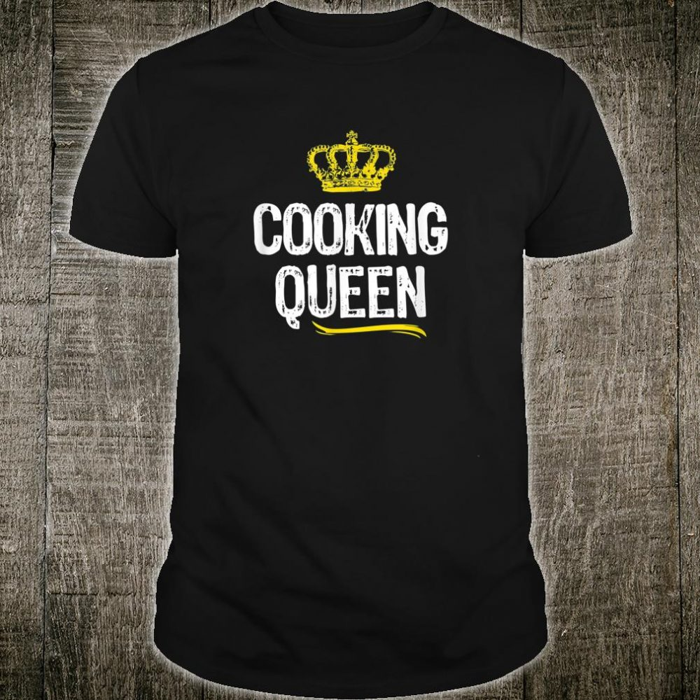 Cooking Queen Girls Chef Cook Cool Cute Shirt