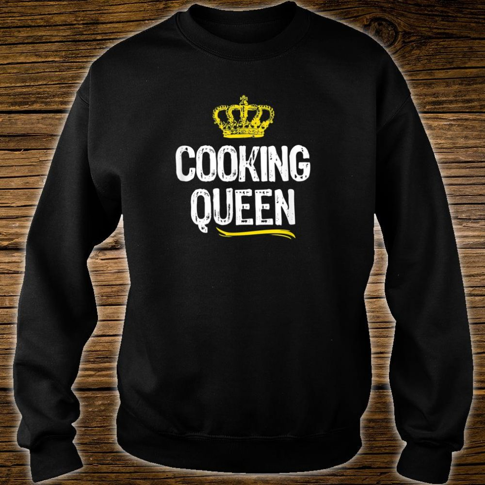 Cooking Queen Girls Chef Cook Cool Cute Shirt sweater