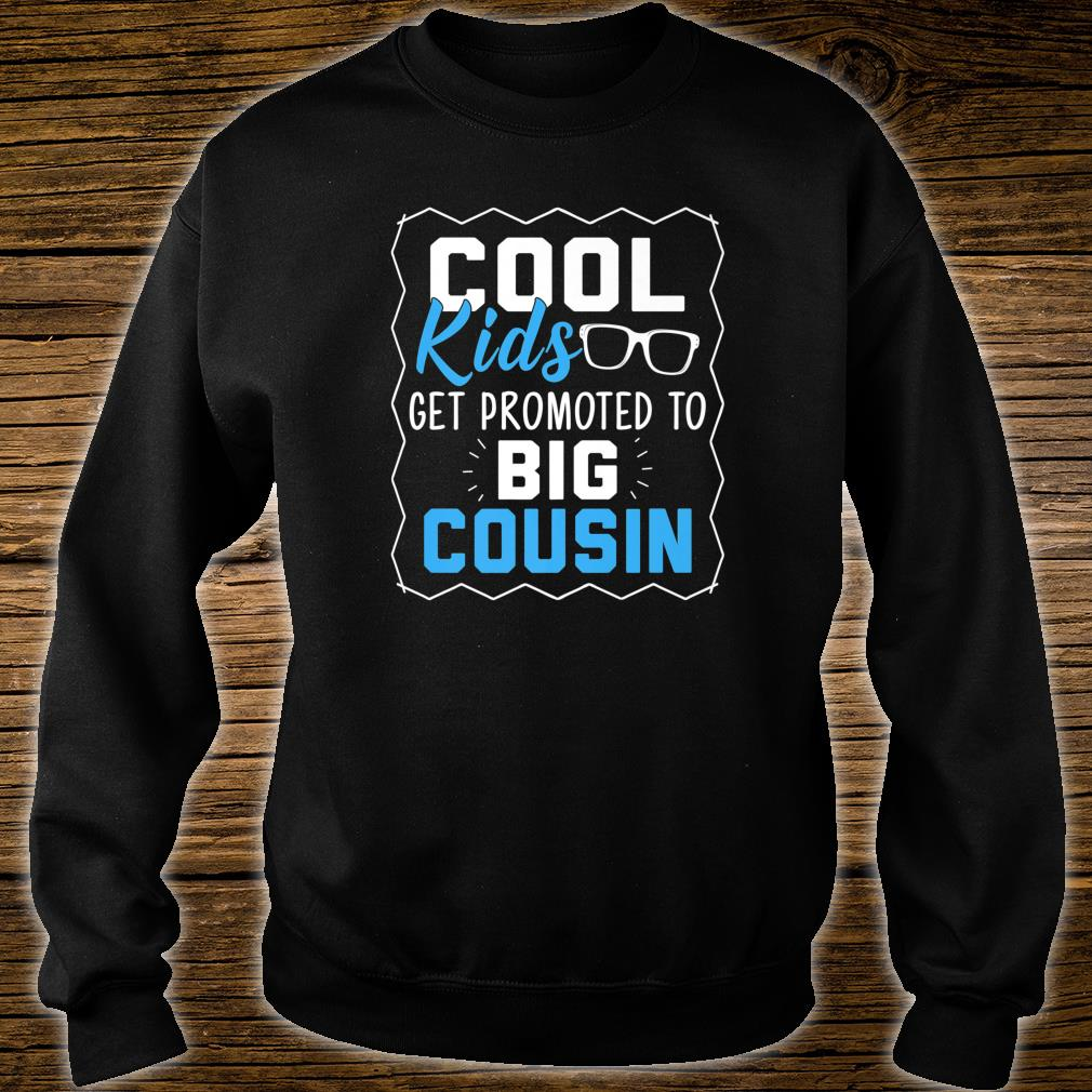 Cool Get Promoted To Big Cousin Cousins Shirt sweater