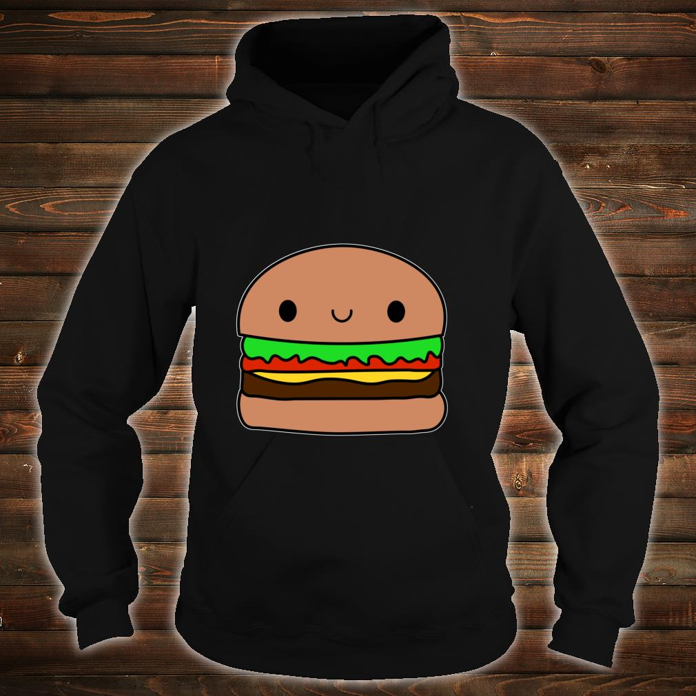Cute Kawaii Hamburger Apparel Junk Food Love Shirt hoodie
