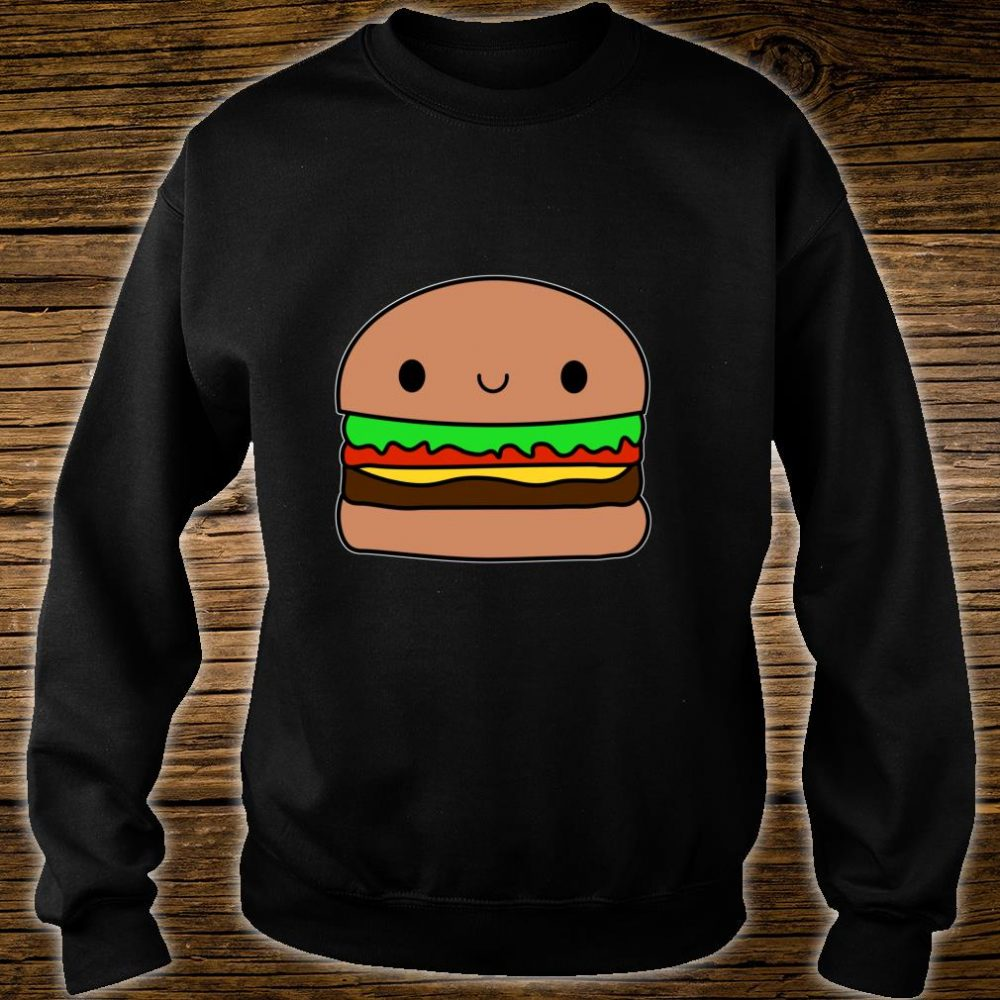 Cute Kawaii Hamburger Apparel Junk Food Love Shirt sweater