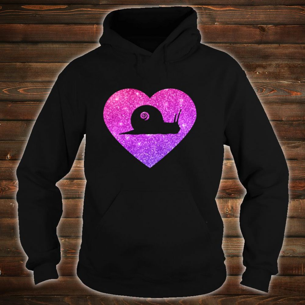 Cute Snail Heart For Girlsns And Shirt hoodie