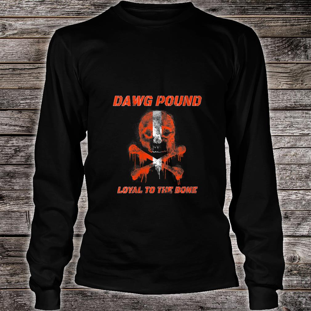 Dawg Pound Shirt long sleeved