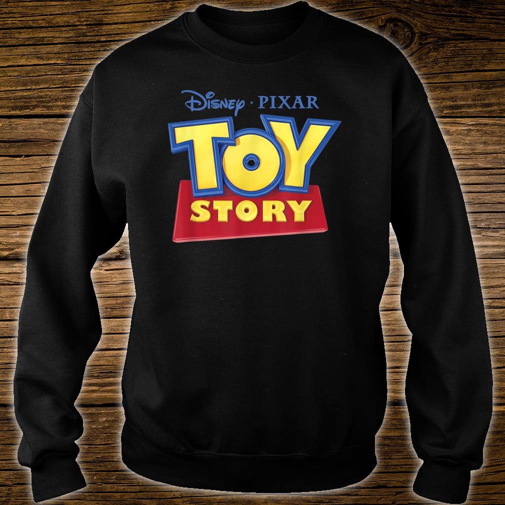Disney Pixar Official TOY STORY Movie Logo Shirt sweater