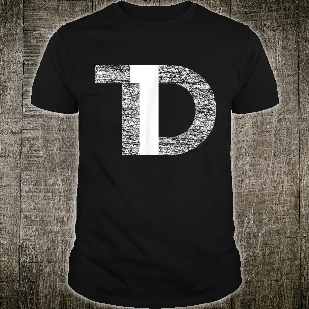 Distressed T1D Type One Diabetes Awareness Shirt