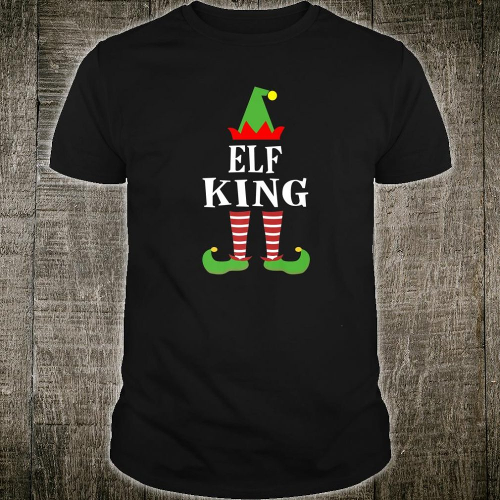 Elf King Matching Family Group Christmas Shirt