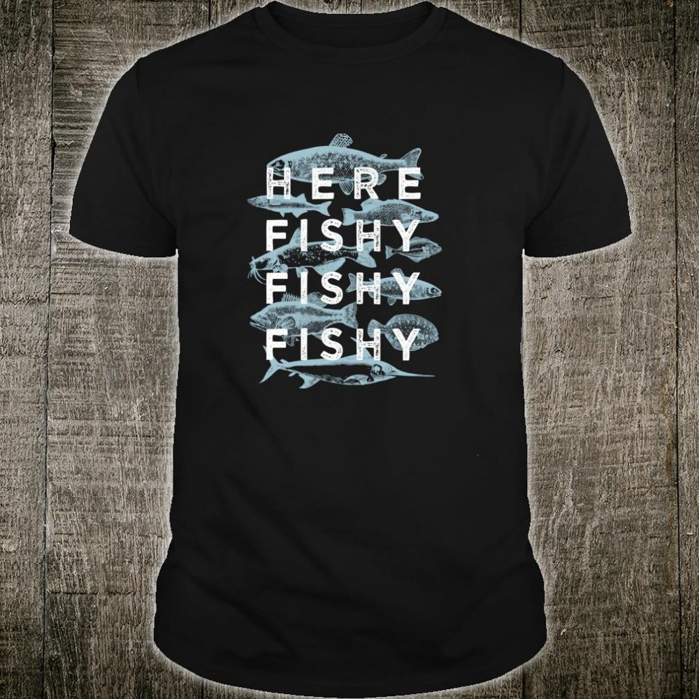Fishy Fisherman Fishing Shirt
