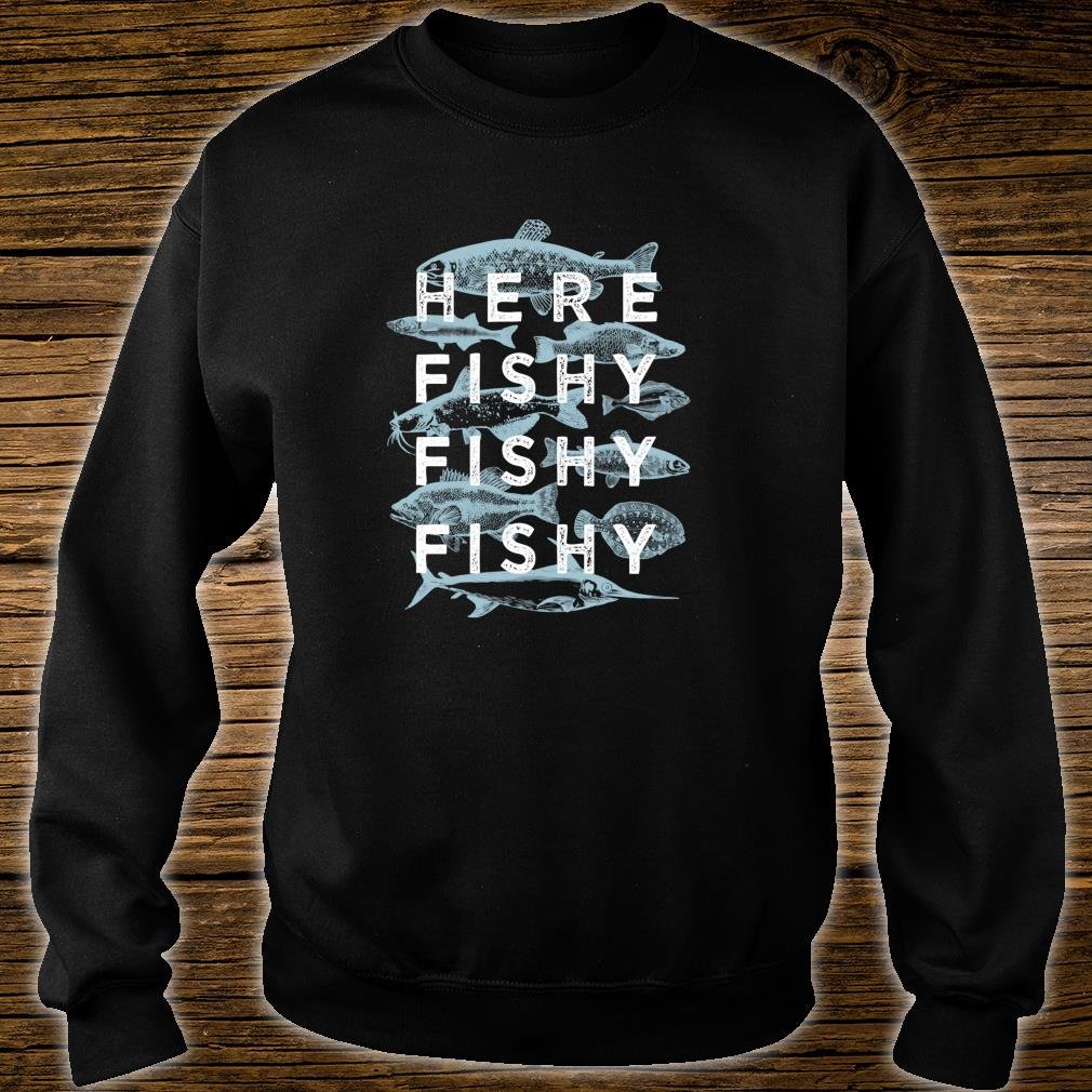Fishy Fisherman Fishing Shirt sweater