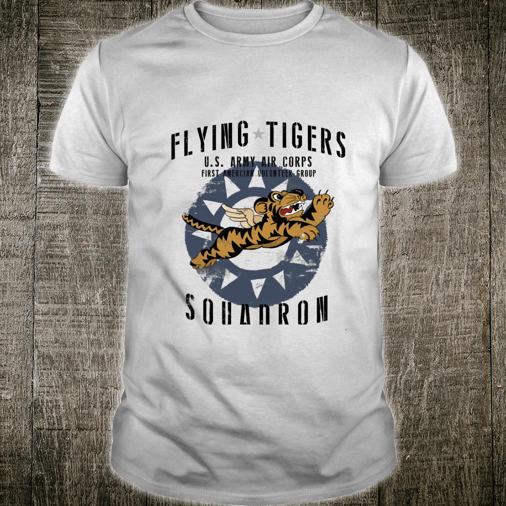 Flying Tigers Squadron WWII Shirt