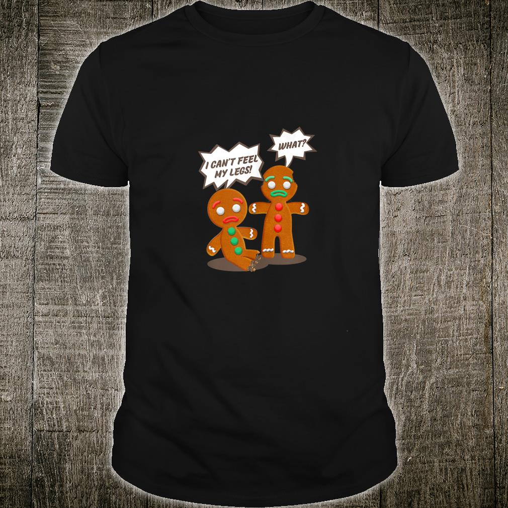 Funny Christmas Gingerbread Man Cookie Shirt