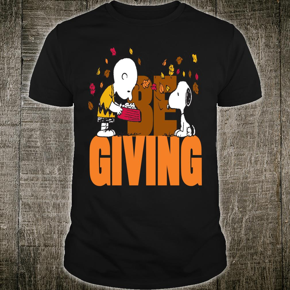 Funny Peanuts Snoopy Woodstock Thanksgiving Shirt