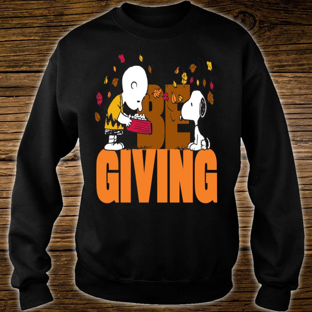Funny Peanuts Snoopy Woodstock Thanksgiving Shirt sweater