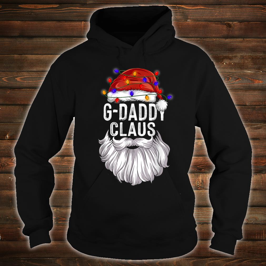 GDaddy Claus Hat Santa Beard Matching Family Pajama Shirt hoodie