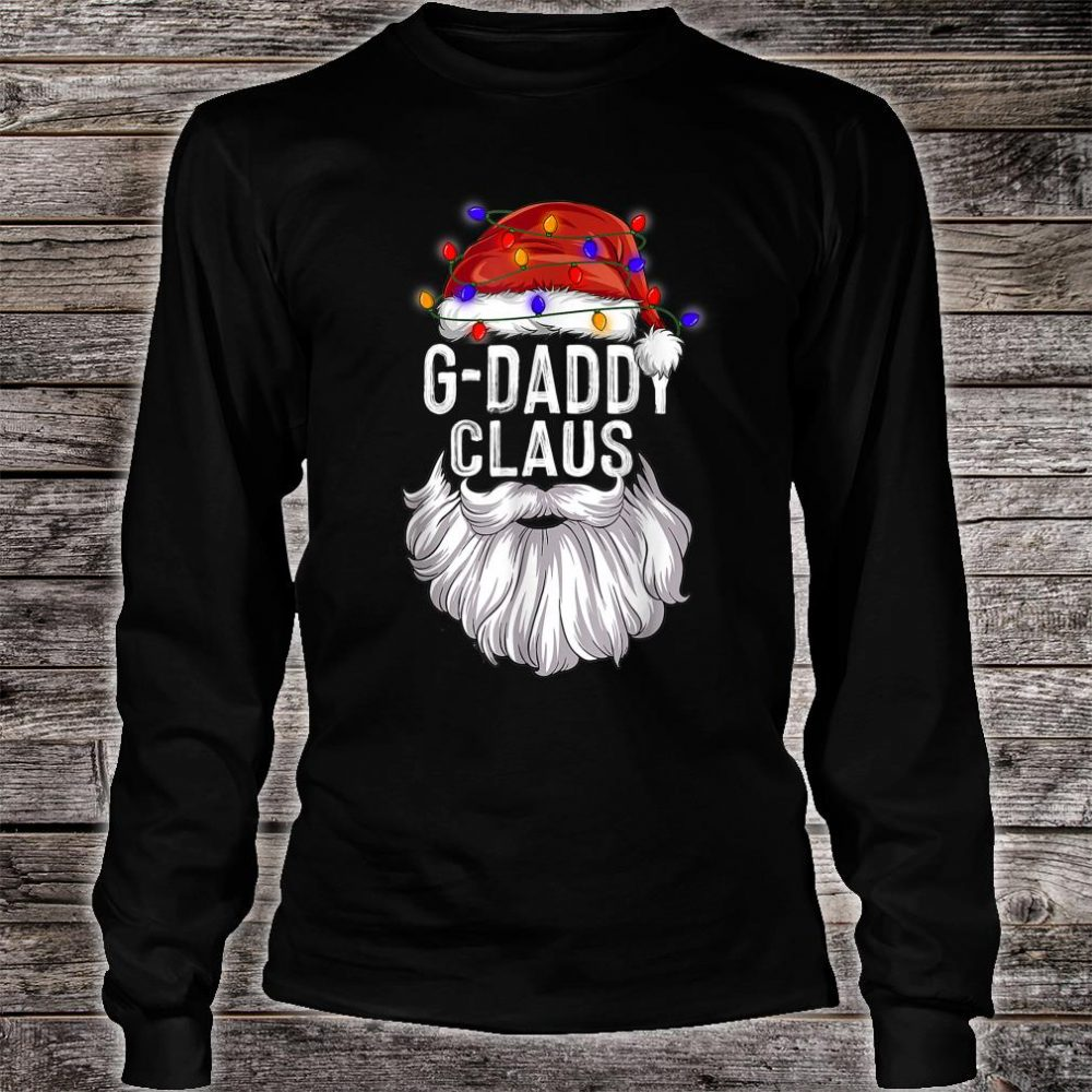 GDaddy Claus Hat Santa Beard Matching Family Pajama Shirt long sleeved