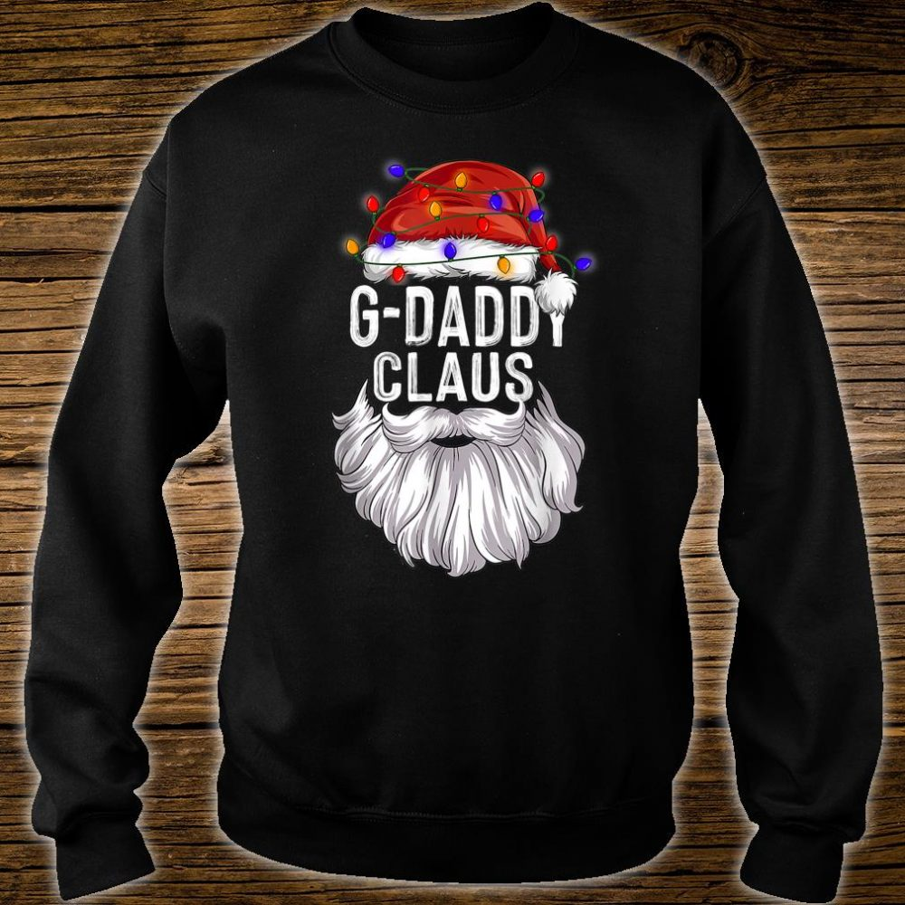 GDaddy Claus Hat Santa Beard Matching Family Pajama Shirt sweater