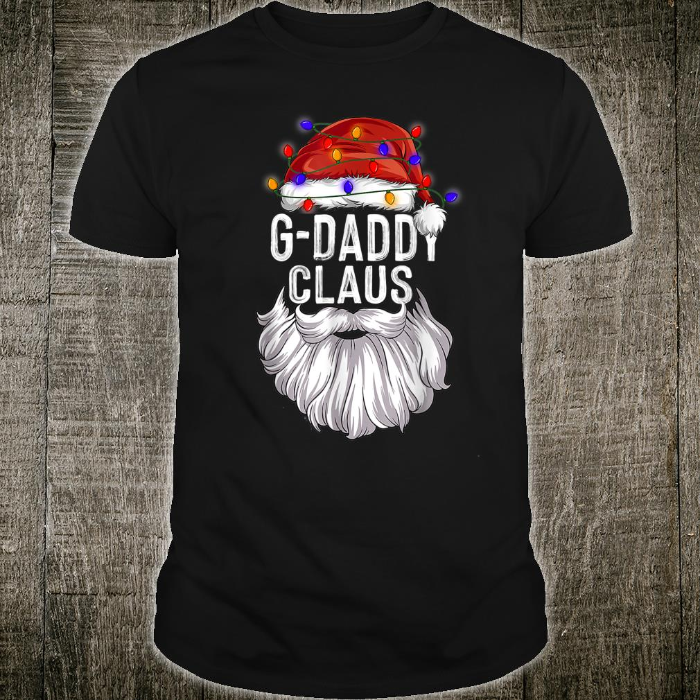 GDaddy Claus Hat Santa Beard Matching Family Pajama Shirt