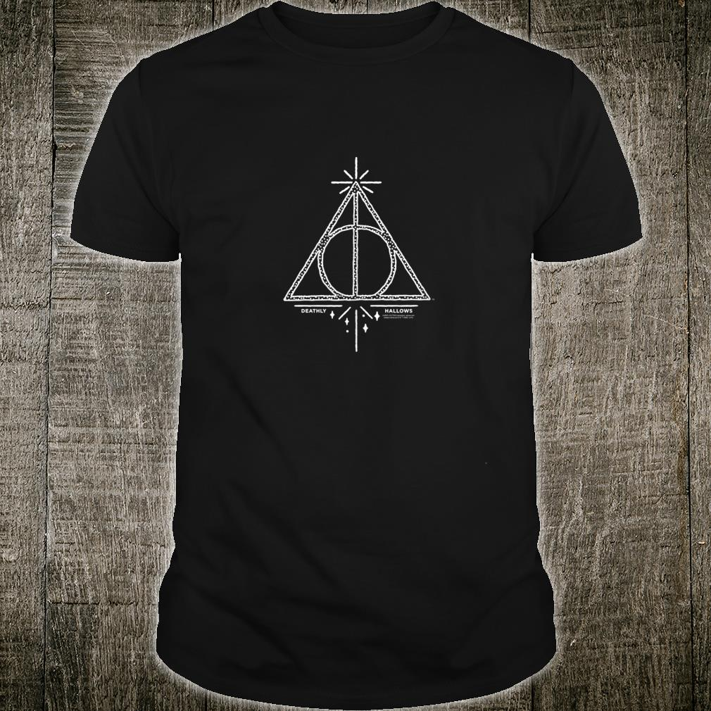 Harry Potter Deathly Hallows Line Art Shirt