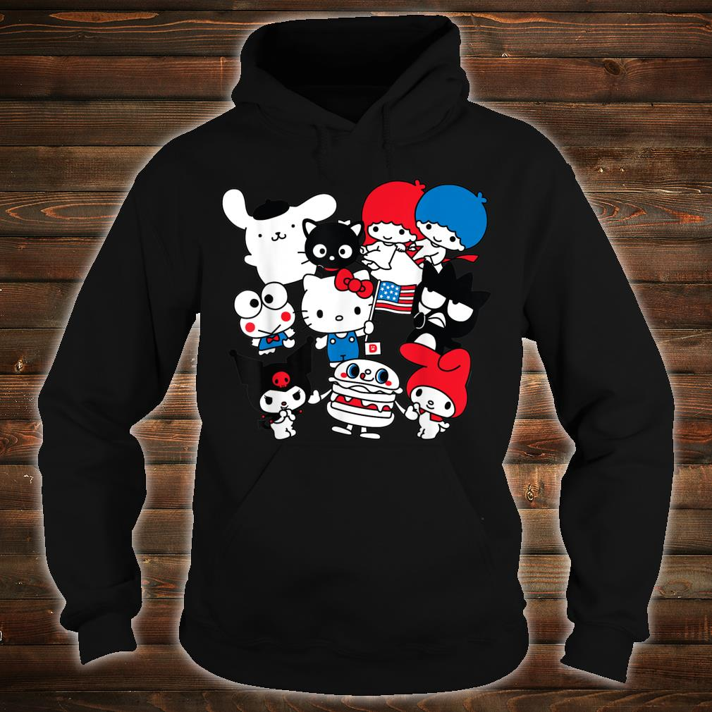 Hello Kitty and Friends Hello Sanrio USA Americana Shirt hoodie