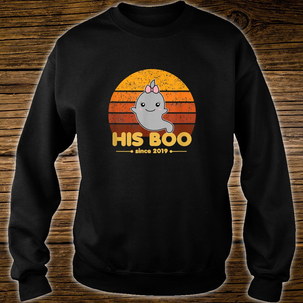 His Boo Since 2019 Matching Halloween Ghost Newlywed Couple Shirt sweater