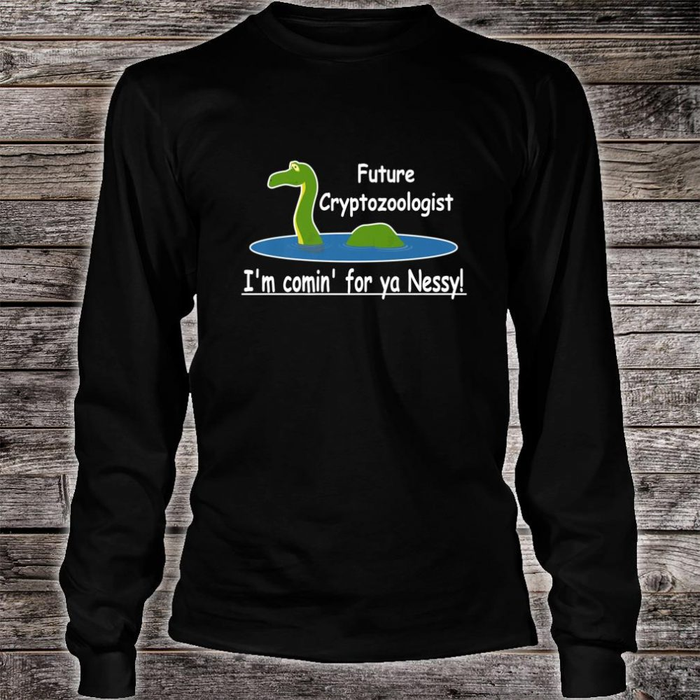 Loch Ness Monster, Cryptozoology, Meme, Cryptids Shirt long sleeved