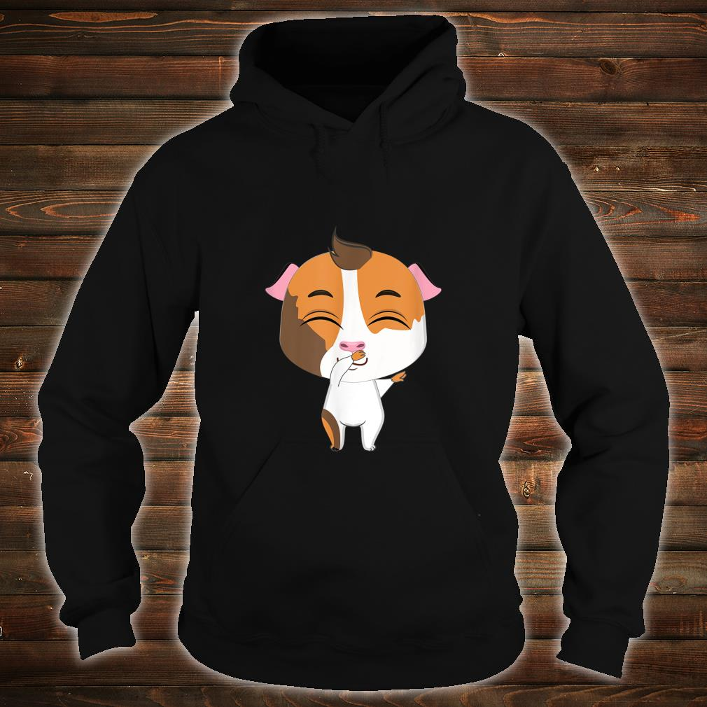 Lovely Guinea Pig Kissing Cute, Pig Shirt hoodie
