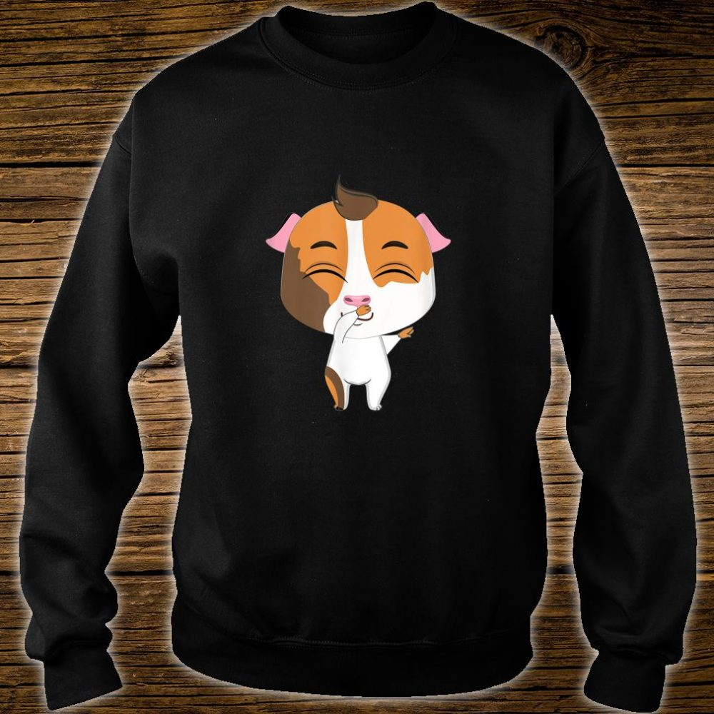 Lovely Guinea Pig Kissing Cute, Pig Shirt sweater