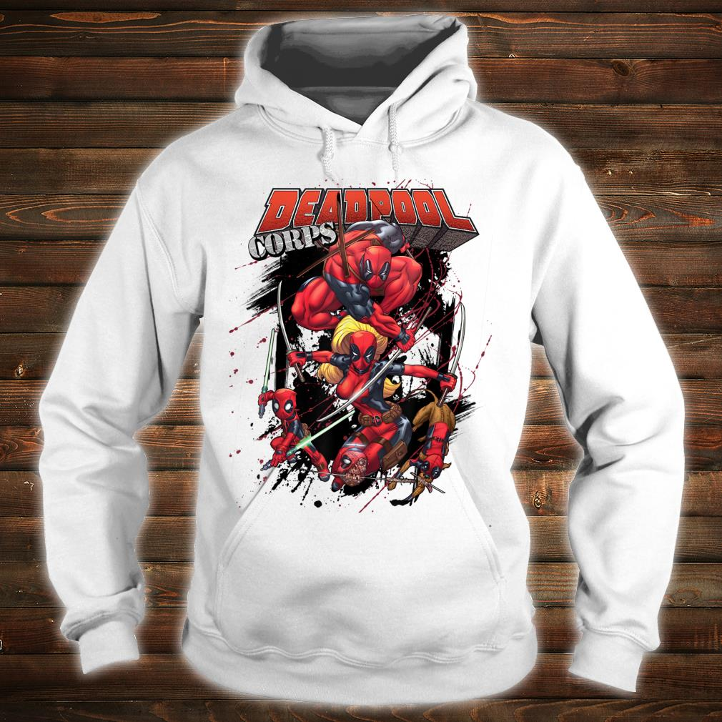 Marvel Deadpool CORPS Family Attack Poses Shirt hoodie