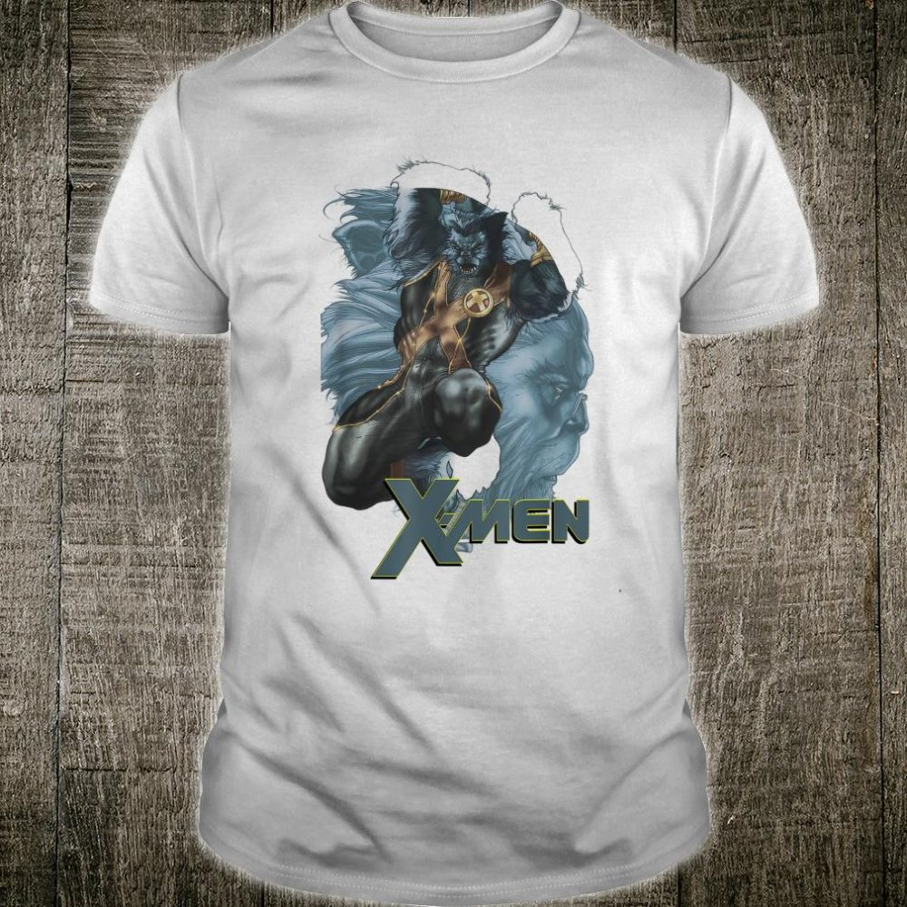 Marvel XMen The Beast Double Exposed Mutant Shirt