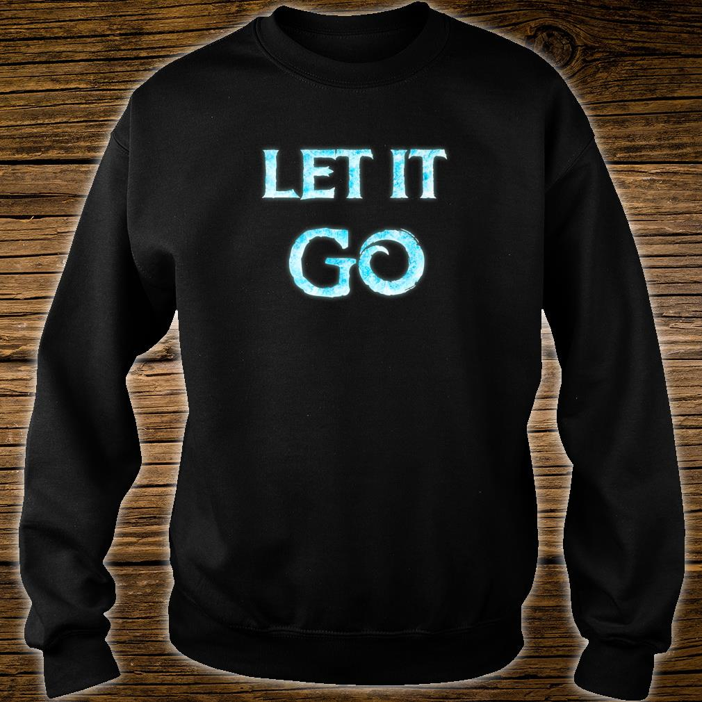 Men Let It Go Movie Quote Cosplay Outfit Shirt sweater