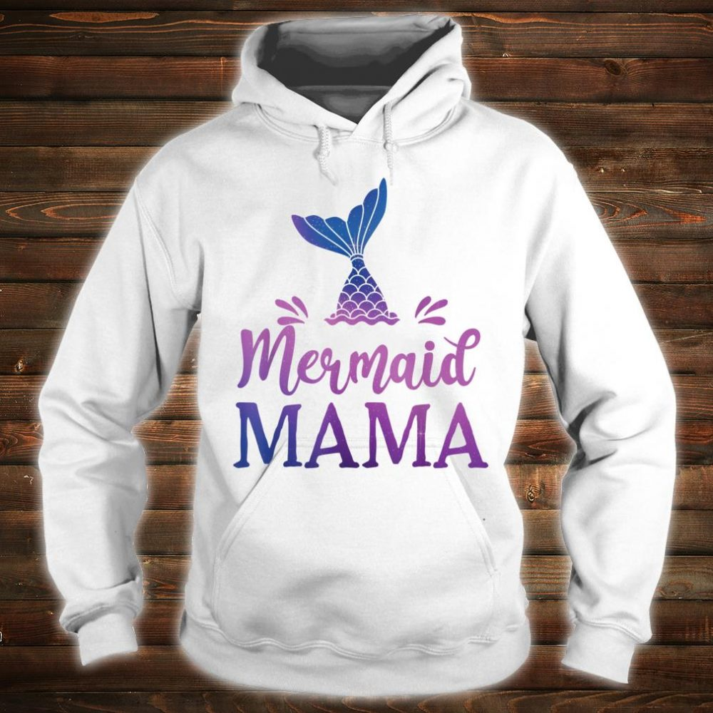 Mermaid Mama Grandfather Family Matching Birthday Shirt hoodie