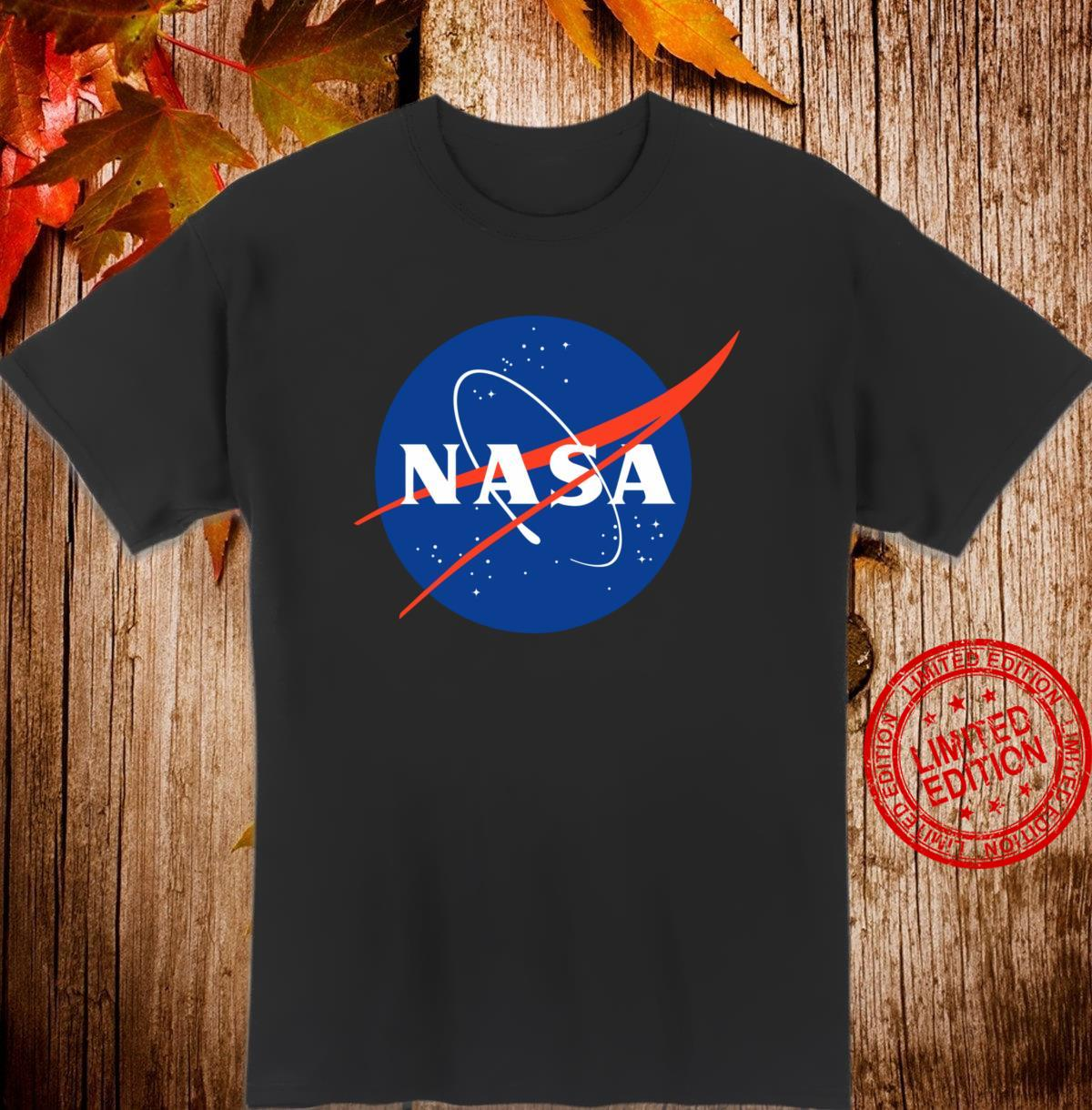 NASA Visions of The Future Deep Space Atomic Clock Red Shirt