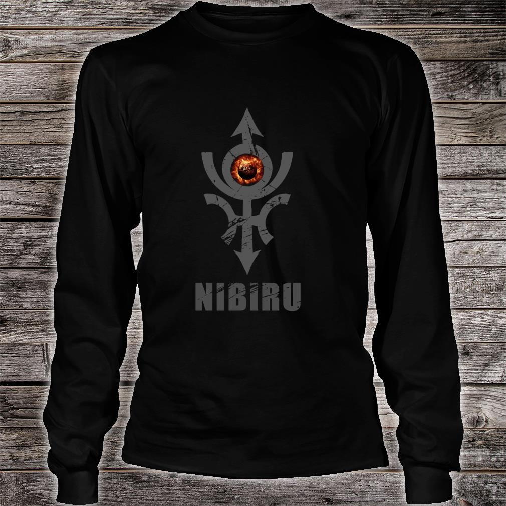 Nibiru Hidden Planet X Alien Earth Council Shirt Long sleeved