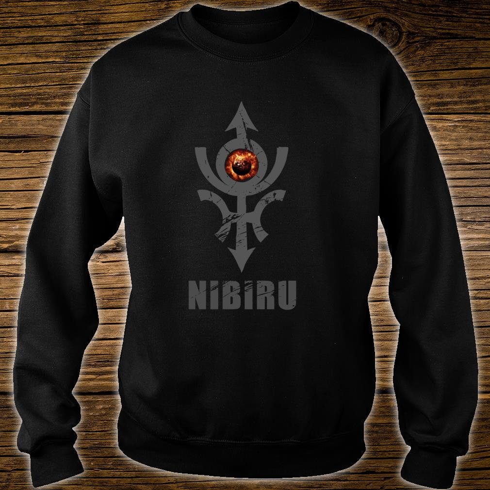 Nibiru Hidden Planet X Alien Earth Council Shirt sweater