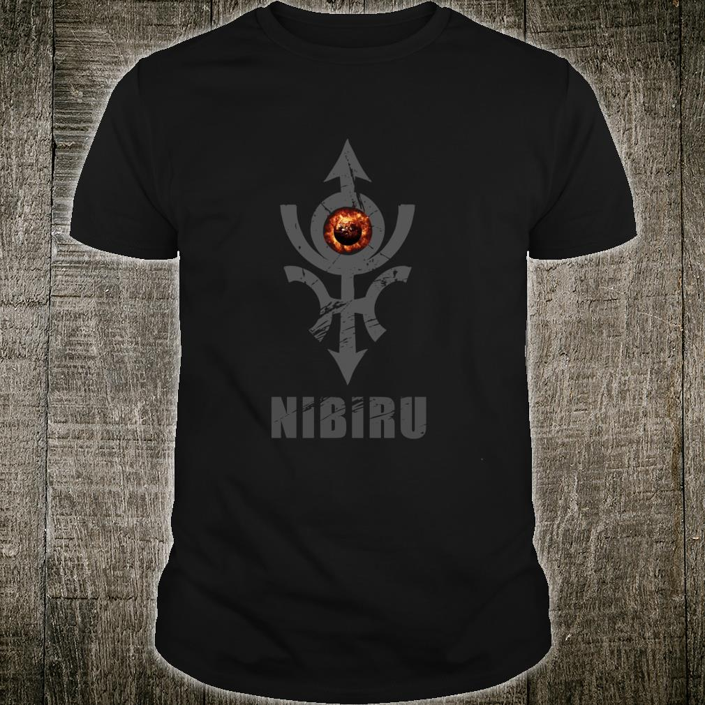 Nibiru Hidden Planet X Alien Earth Council Shirt
