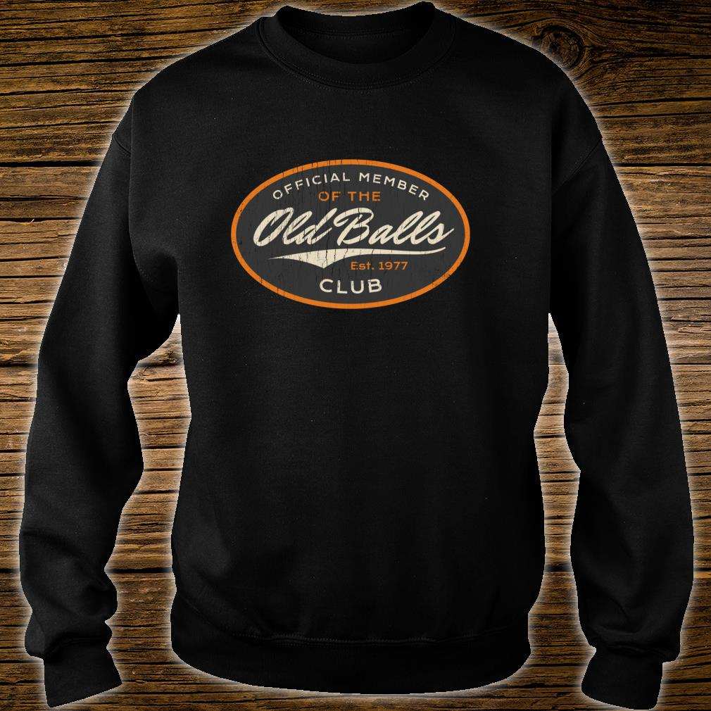 Official Member Old Balls Club Gag Shirt sweater
