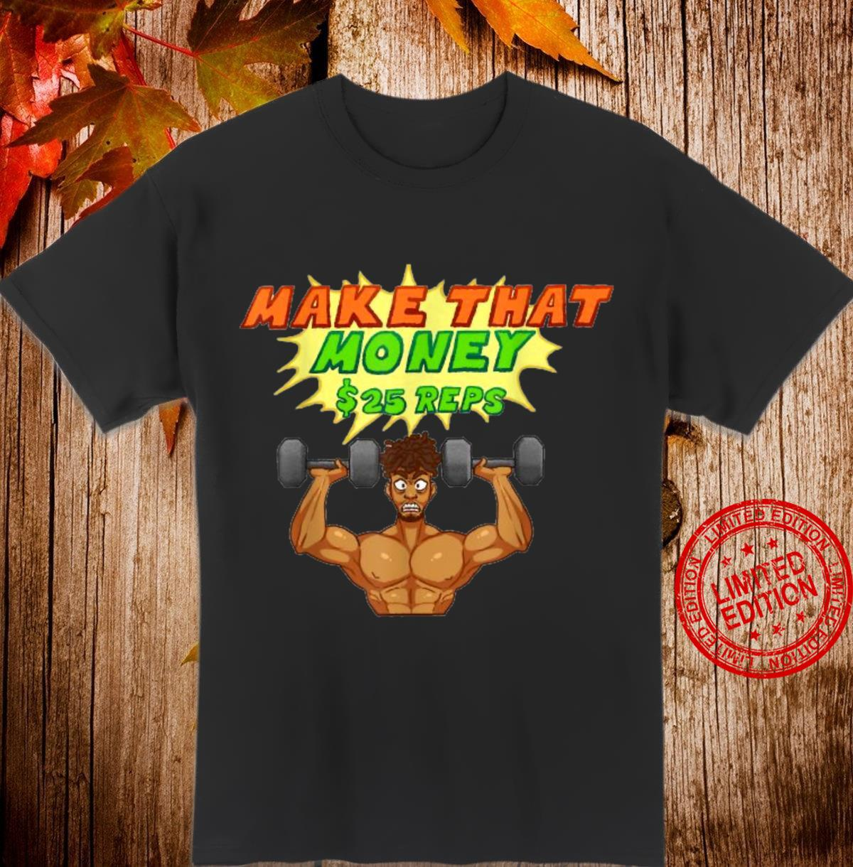 Old School and New School Workout Hit it HardBODY Shirt