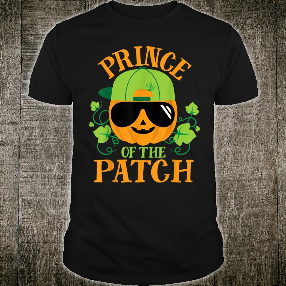 Prince Pumpkin of the Patch Matching Family Boys Halloween Shirt